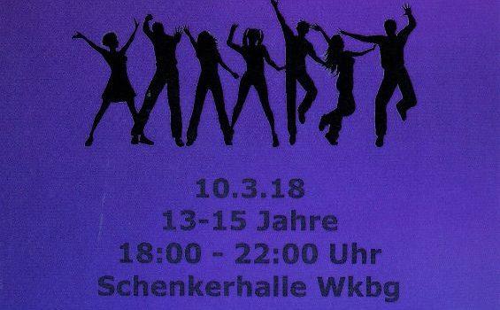 10.03.18 – Party Rausch beim KJR ab 13 Jahren