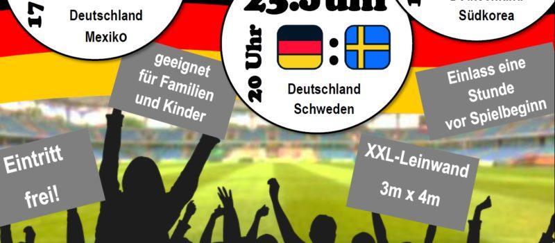 Fußball WM – Public Viewing XXL