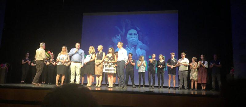 """VIEL-Preis Auszeichnung vom BJR für das Tanztheater """"Was uns verbindet"""""""