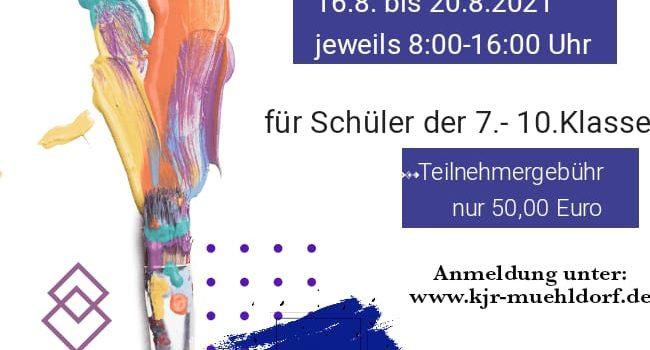 Modern-Wall-Painting-Sommerferienwoche